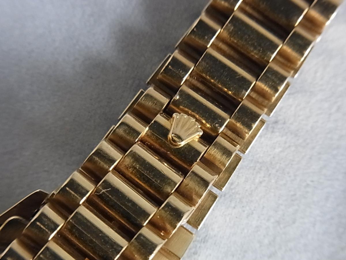 ロレックスデイトジャスト68278G E品番シリアルの高価売却とバックル画像