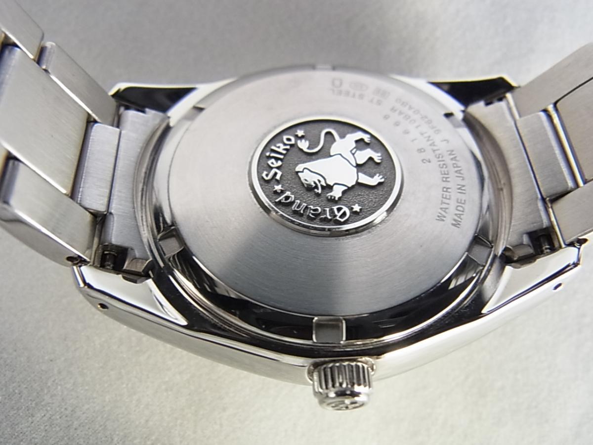 グランドセイコーSBGX063 キャリバー9F62搭載モデルの高額売却実績と裏蓋画像
