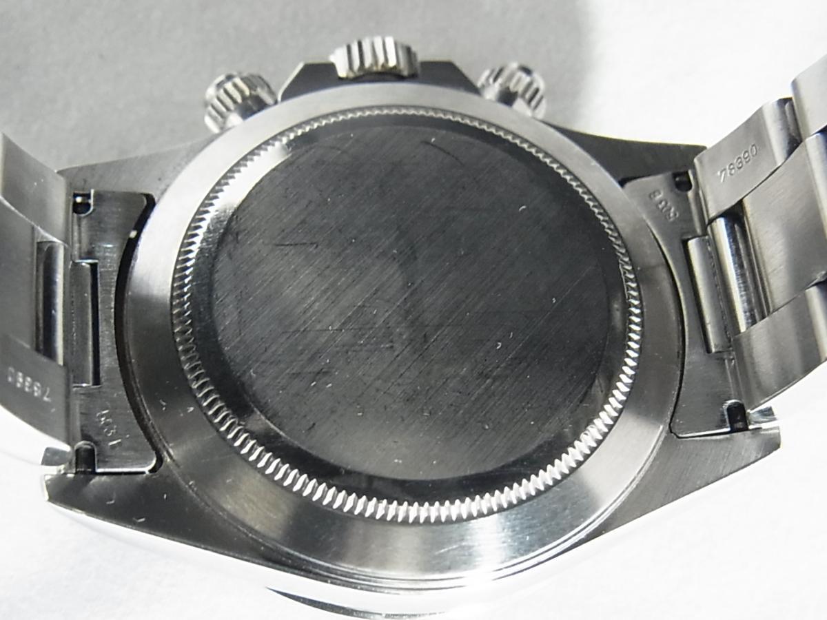 ロレックスデイトナ16520 T番シリアル(ロレックスデイトナ16520 T番シリアルとは、1996年製造のロレックスデイトナ16520モデルであることを意味しています。)の売却実績と裏蓋画像