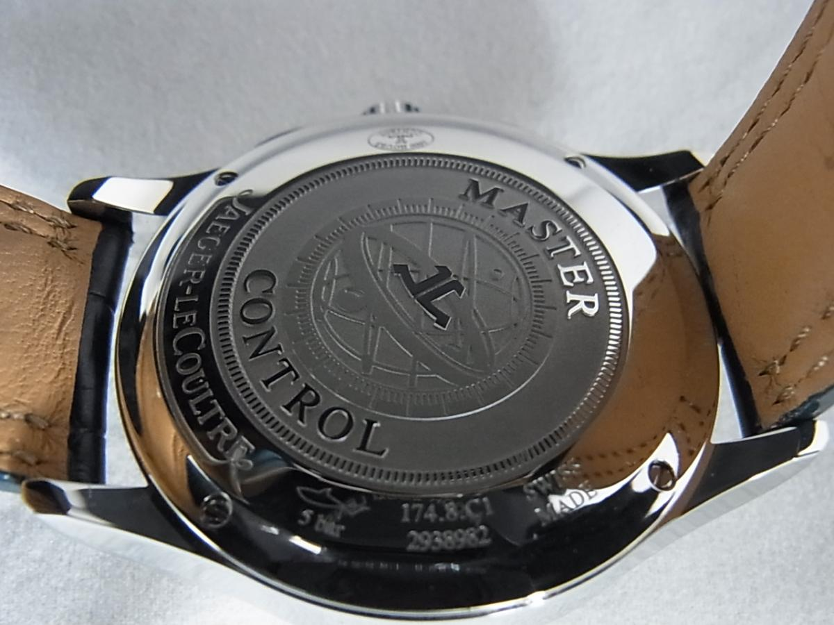 ジャガールクルトマスタークロノグラフQ1538420 の売却実績と裏蓋画像