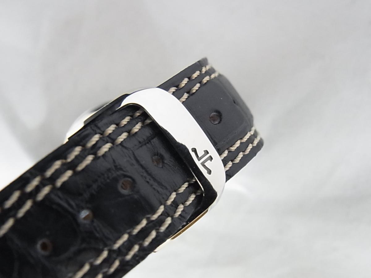 ジャガールクルトマスタークロノグラフQ1538420 の高価売却とバックル画像