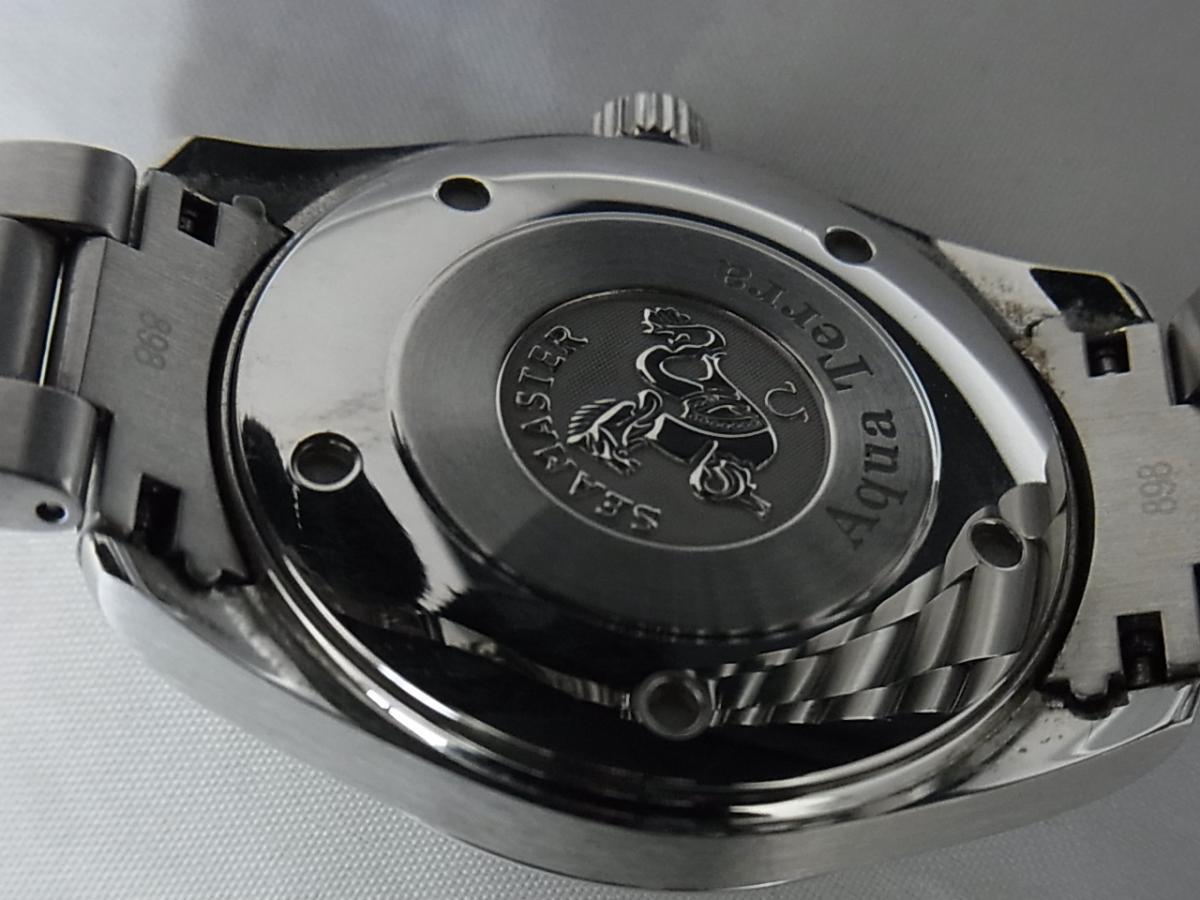 オメガシーマスターアクアテラ2517.50の売却実績と裏蓋画像