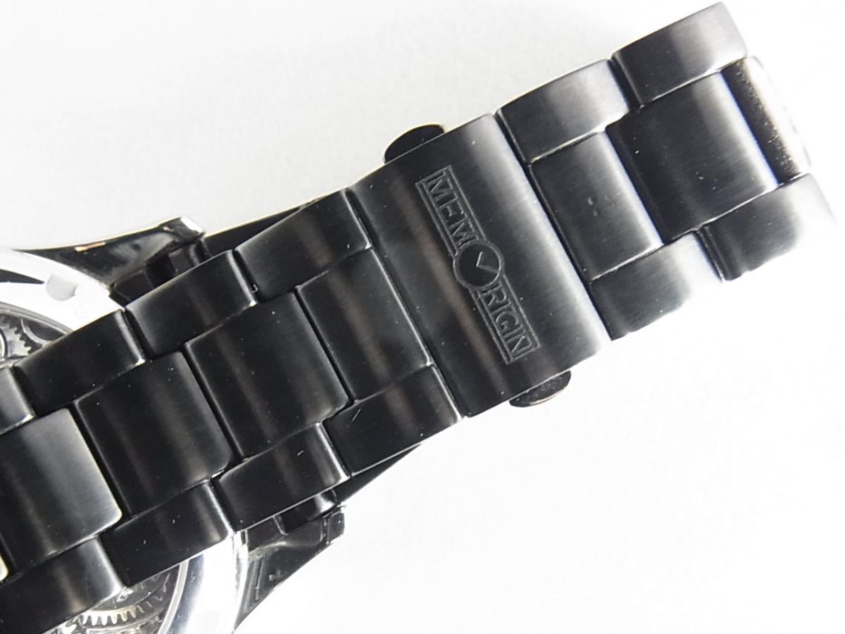 メモリジンスターリットレジェンドMO1231-SSWHBKA SSブレス付属タイプの高価売却とブレス+バックル画像