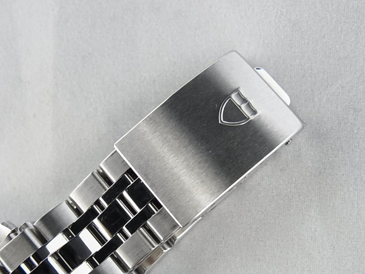 チュードルプリンスデイデイト 76200 I品番シリアル黒文字盤の高価売却とバックル画像