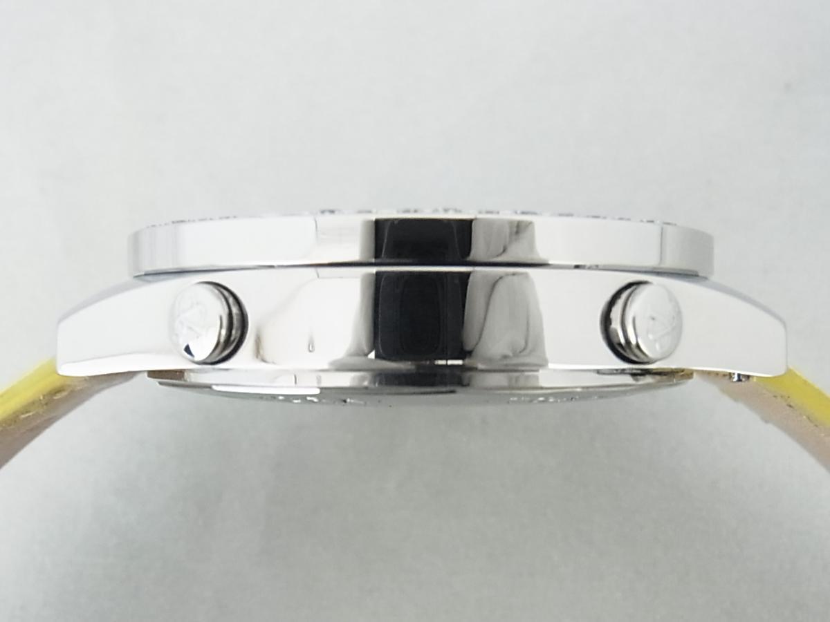 ジェイコブファイブタイムゾーンJC-58DAD ダイヤモンド巻ベゼルの高額売却実績と9時ケースサイド画像