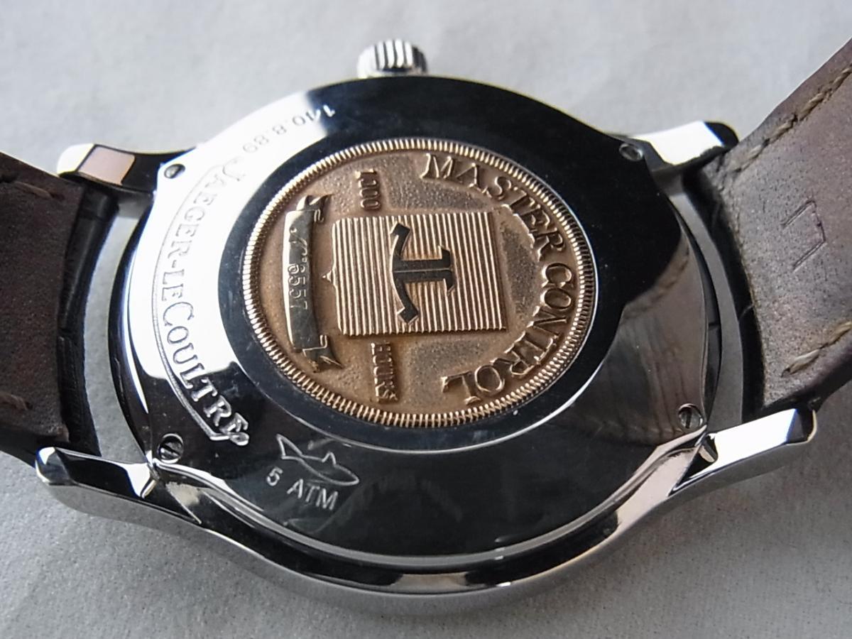 ジャガールクルト マスターコントロール 140.8.89の売却実績と裏蓋画像