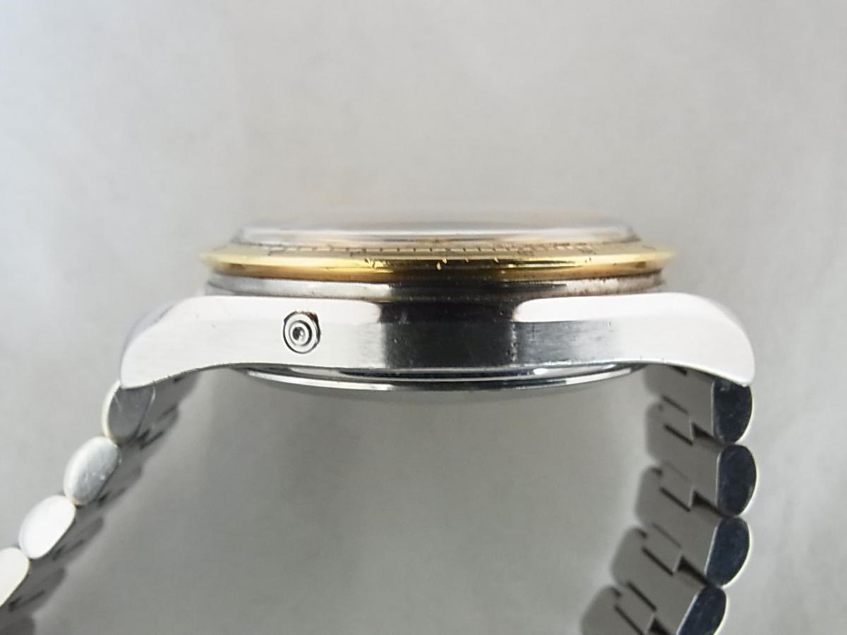 オメガスピードマスタートリプルカレンダーデイデイト3331.20イエローゴールドコンビ の高額売却実績と9時ケースサイド画像