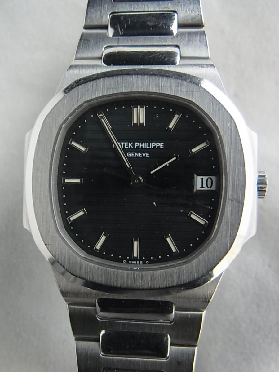 パテックフィリップノーチラスSS 3900/001ユニセックス30㎜ケース1990年代パテックフィリップの買取実績と正面全体画像