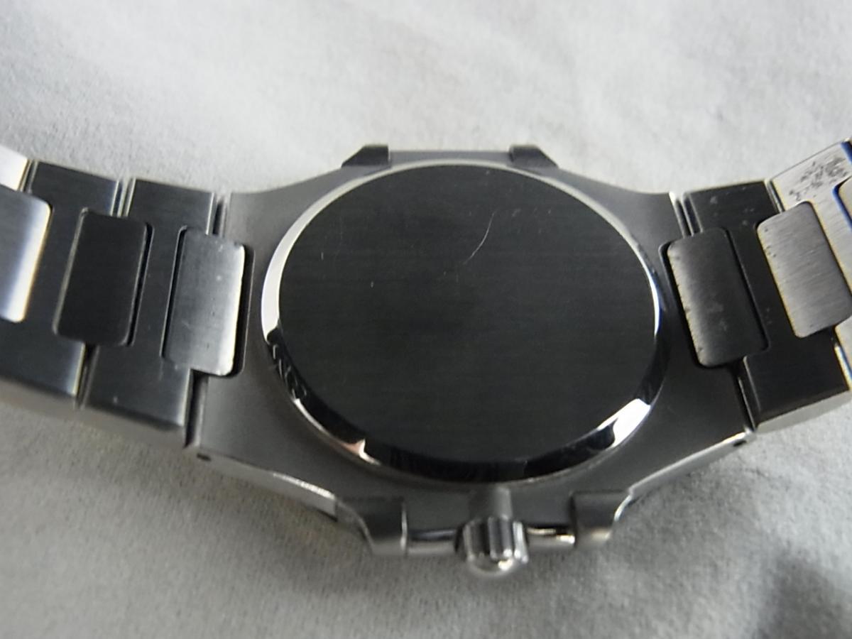 パテックフィリップノーチラスSS 3900/001ユニセックス30㎜ケース1990年代パテックフィリップの売却実績と裏蓋画像