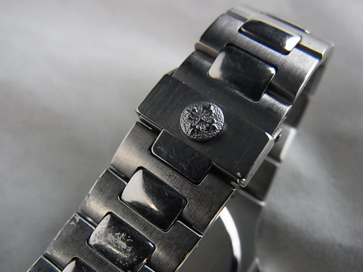 パテックフィリップノーチラスSS 3900/001ユニセックス30㎜ケース1990年代パテックフィリップの高価売却とバックル画像
