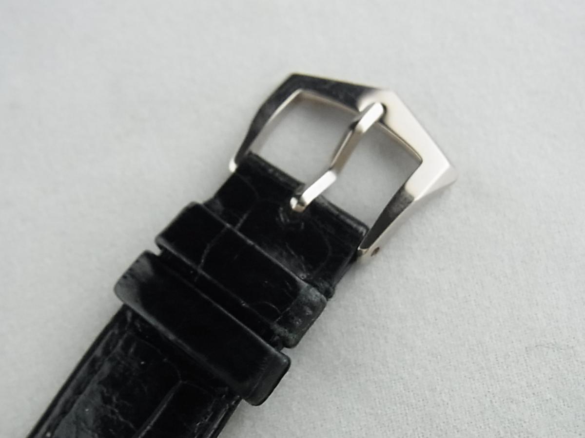 パテックフィリップカラトラバ3919SG-001 18KWG 日本限定の高価売却と尾錠画像