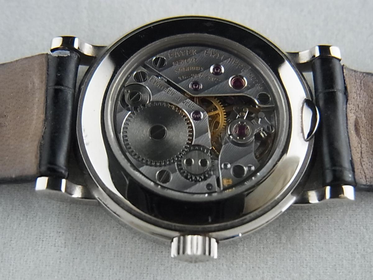 パテックフィリップカラトラバレディース日本限定モデル4809SG-001の売却実績と裏蓋バックスケルトン画像