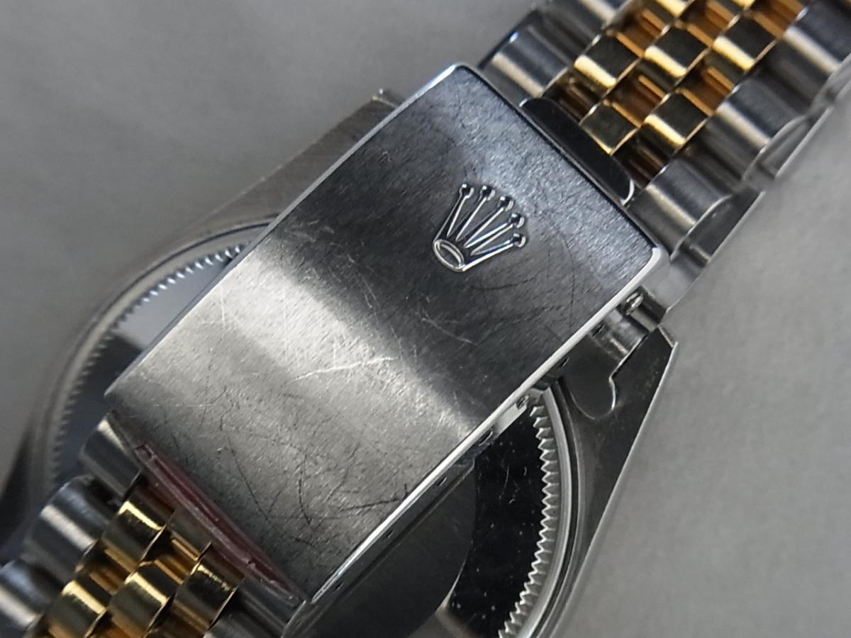 ロレックスパーペチュアルデイト15053の高価売却とバックル画像