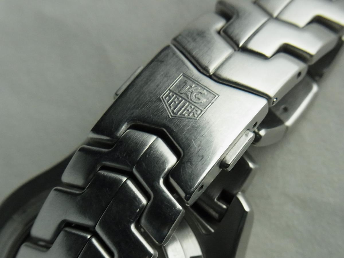 タグホイヤーリンククロノグラフCJF211A.BA0594の高価売却とバックル画像