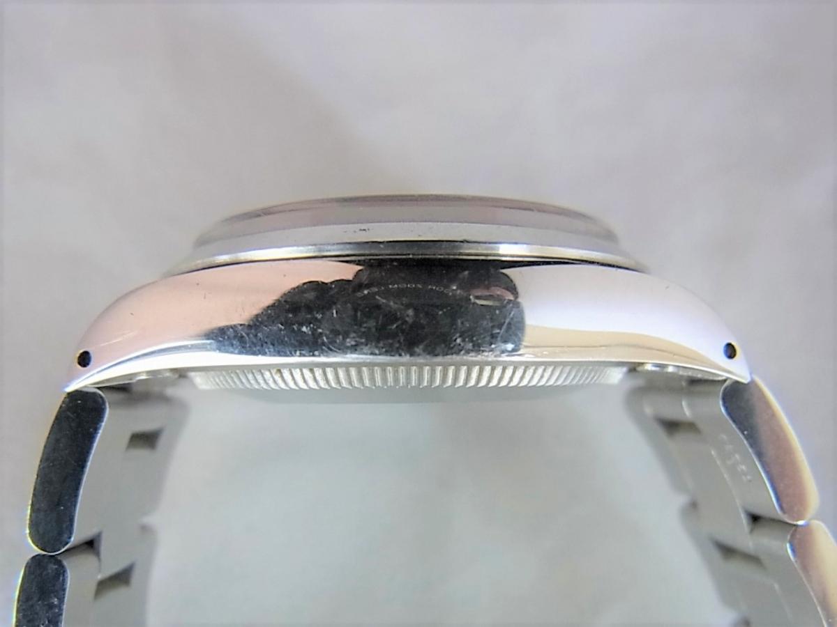 ロレックスエアキング5500シリアルR番 高額売却実績 9時ケースサイド画像