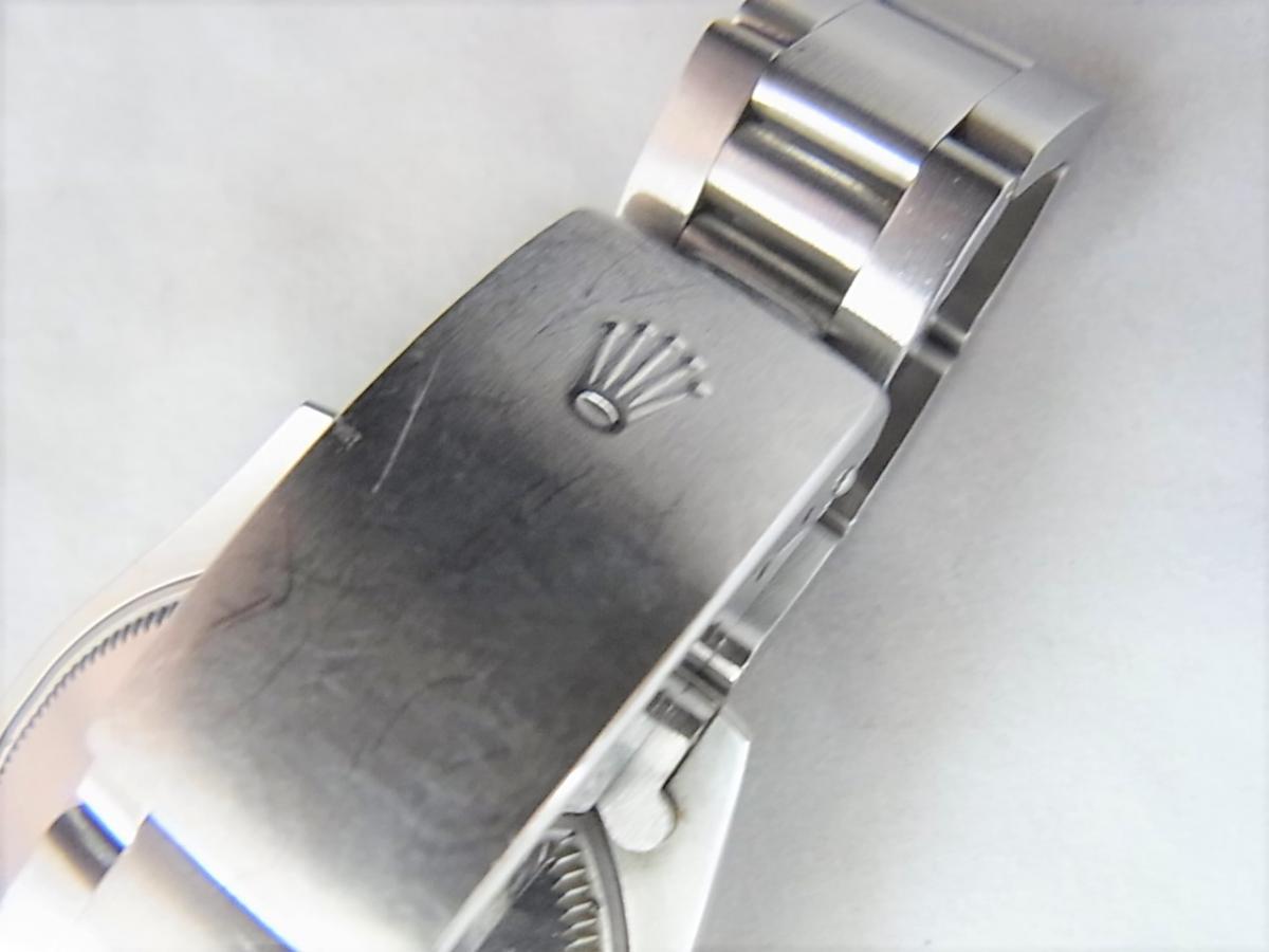 ロレックスエアキング5500シリアルR番 高価売却 バックル画像