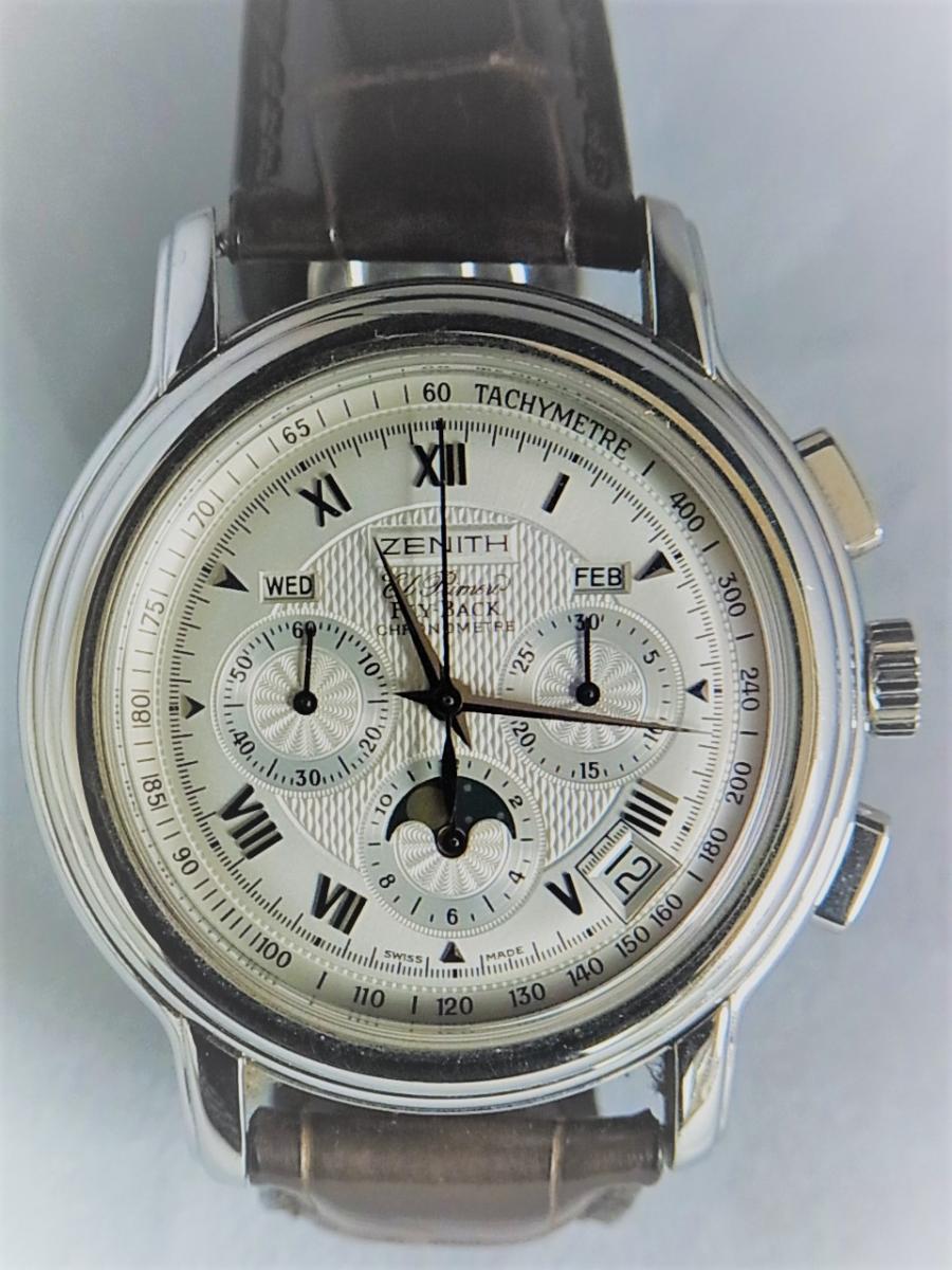 ゼニス クロノマスター 03.1240.4001-01.C496.GB  買取実績 正面全体画像 時計を売るならピアゾ(PIAZO)