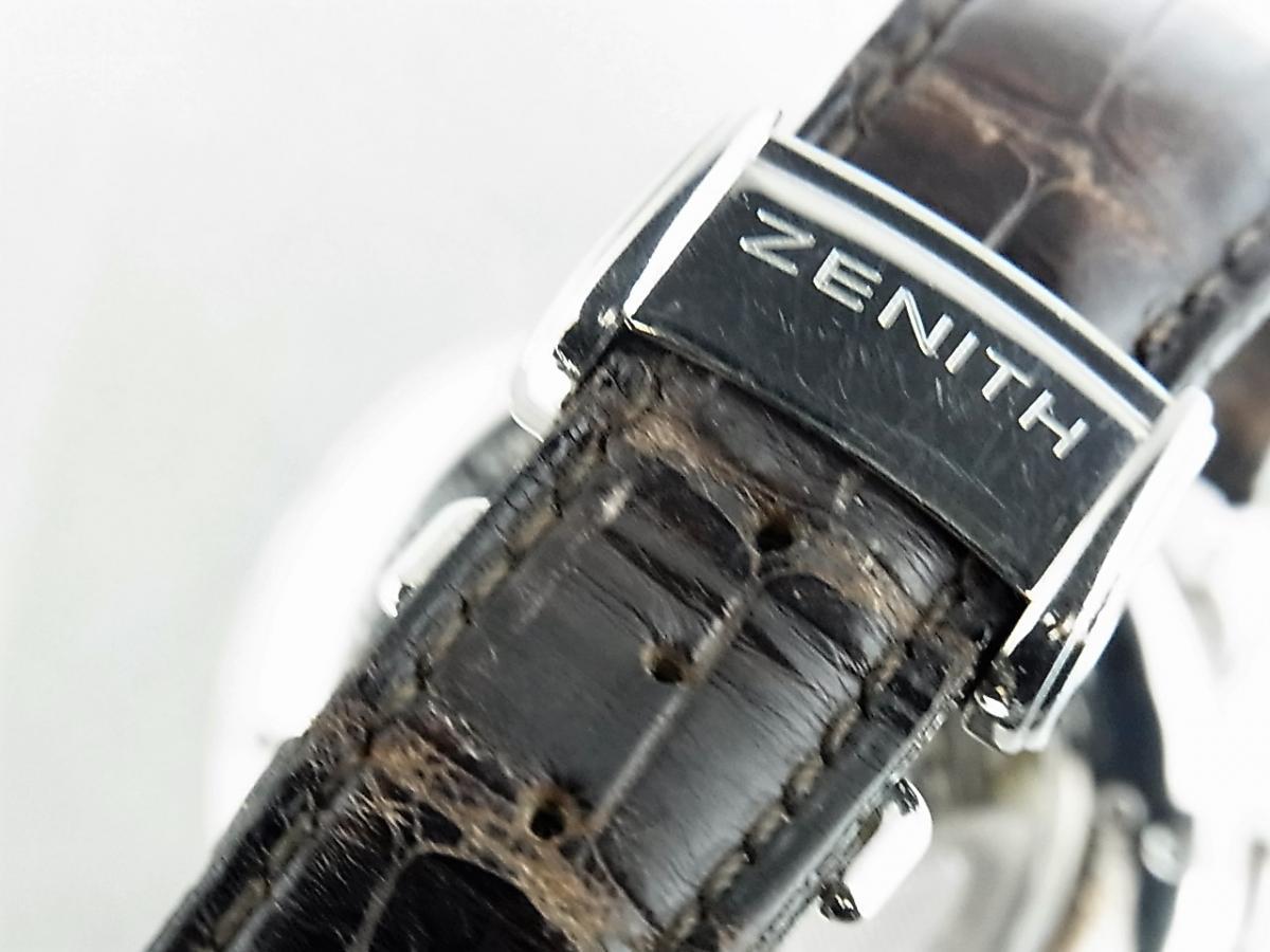 ゼニス クロノマスター 03.1240.4001-01.C496.GB  高価売却 バックル画像 時計を売るならピアゾ(PIAZO)