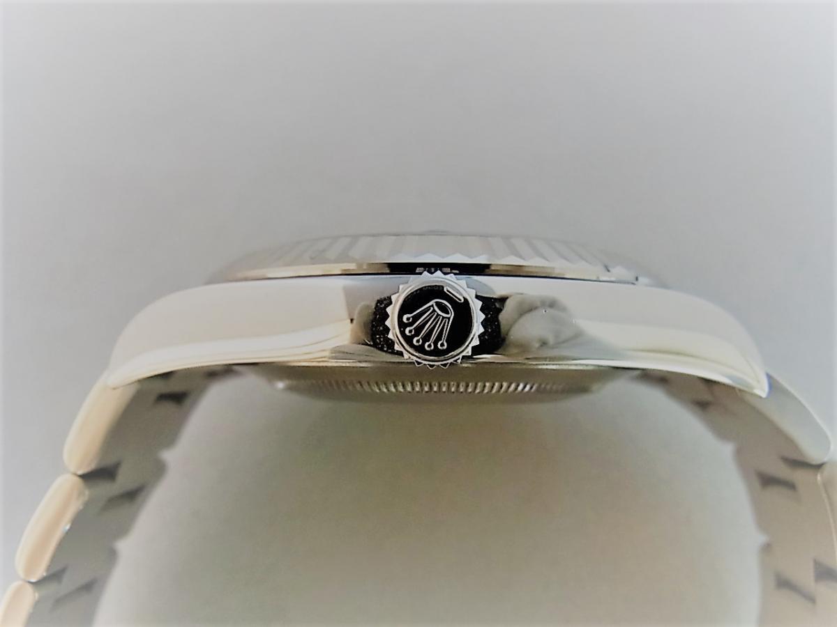 ロレックス デイトジャストⅡ 116334  買い取り実績 3時リューズサイド画像