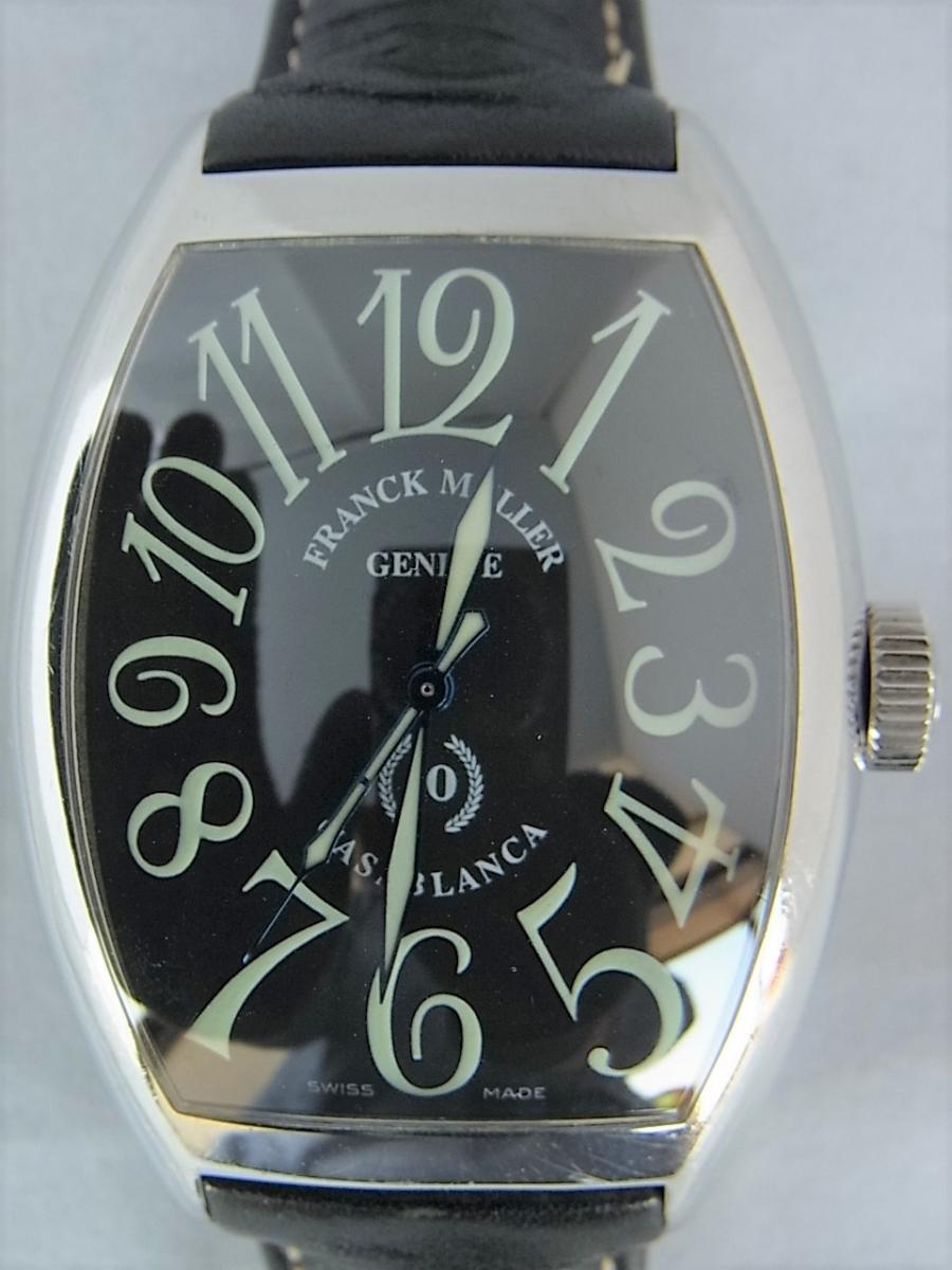 フランクミュラーカサブランカ 10周年モデル 8880C 時計本体のみ 買取実績 正面全体画像 時計を売るならピアゾ(PIAZO)