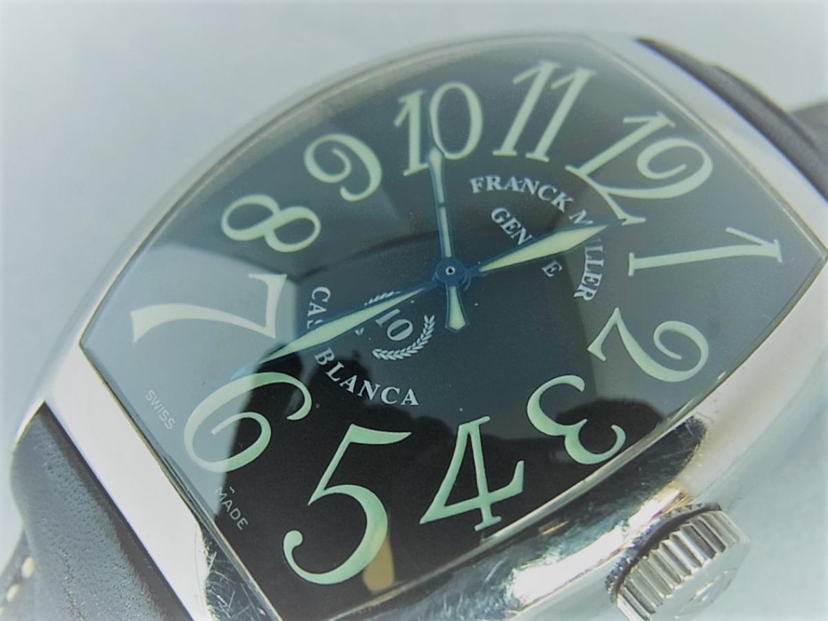 フランクミュラーカサブランカ 10周年モデル 8880C 時計本体のみ 買取り実績 フェイス斜め画像 時計を売るならピアゾ(PIAZO)