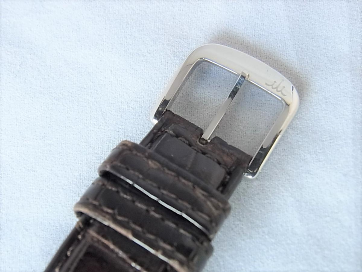 クレドールスプリングドライブ初期型GBLG999 25周年限定プラチナ1000採用モデル 高価売却 バックル画像 時計を売るならピアゾ(PIAZO)