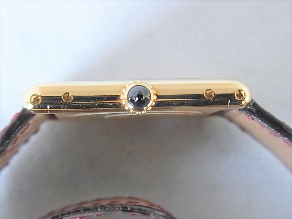 カルティエタンクルイW1527851 LM K18YG コレクション・プリヴェ CPCP  買い取り実績 3時リューズサイド画像 時計を売るならピアゾ(PIAZO)