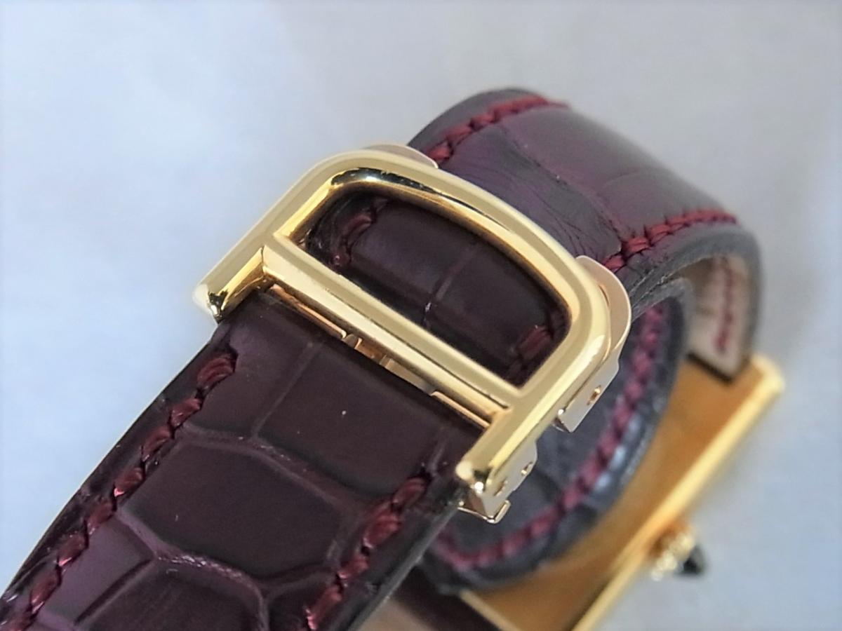 カルティエタンクルイW1527851 LM K18YG コレクション・プリヴェ CPCP 高価売却 バックル画像 時計を売るならピアゾ(PIAZO)