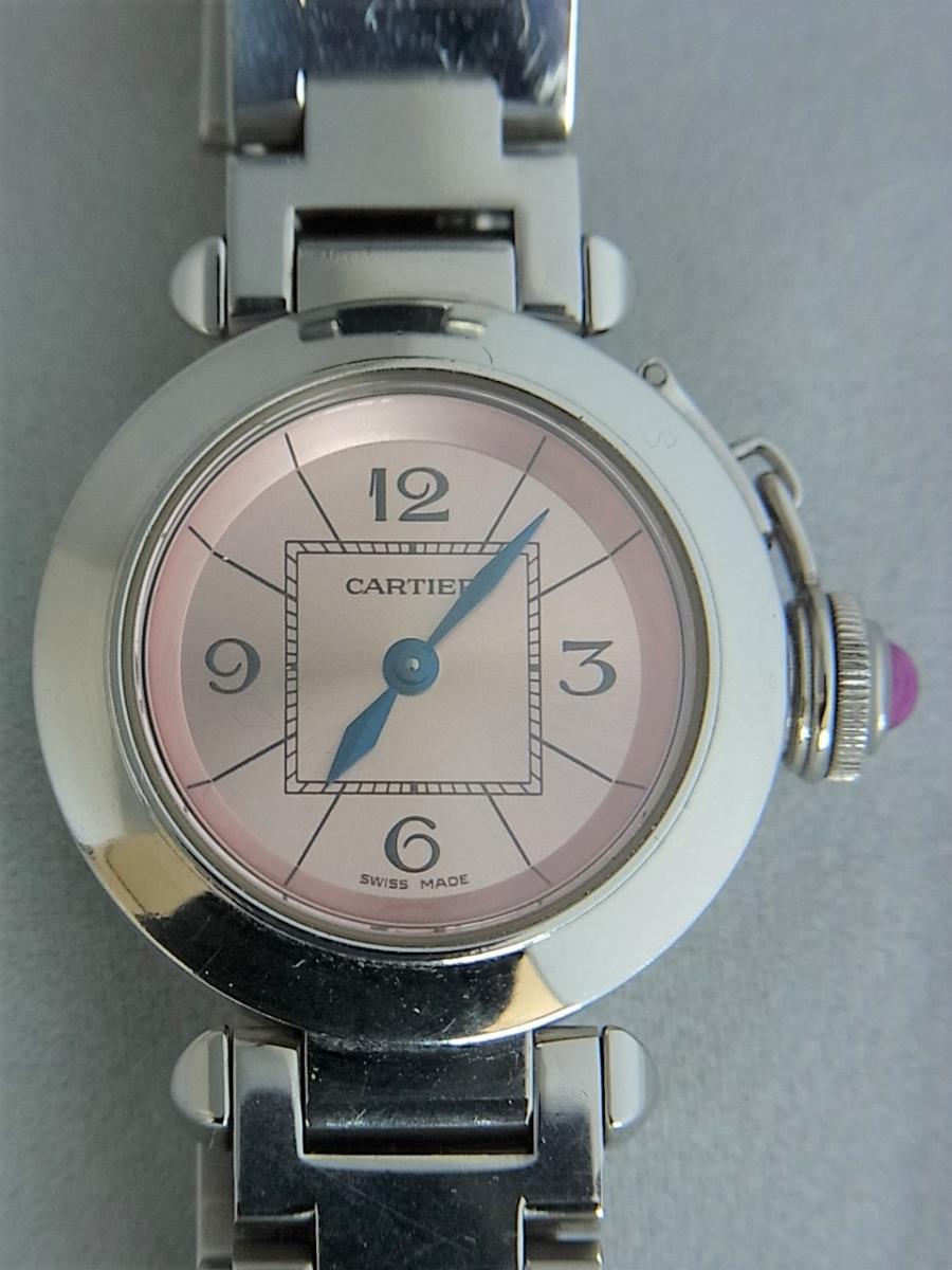 カルティエミスパシャref.W3140008 買取実績 正面全体画像 時計を売るならピアゾ(PIAZO)