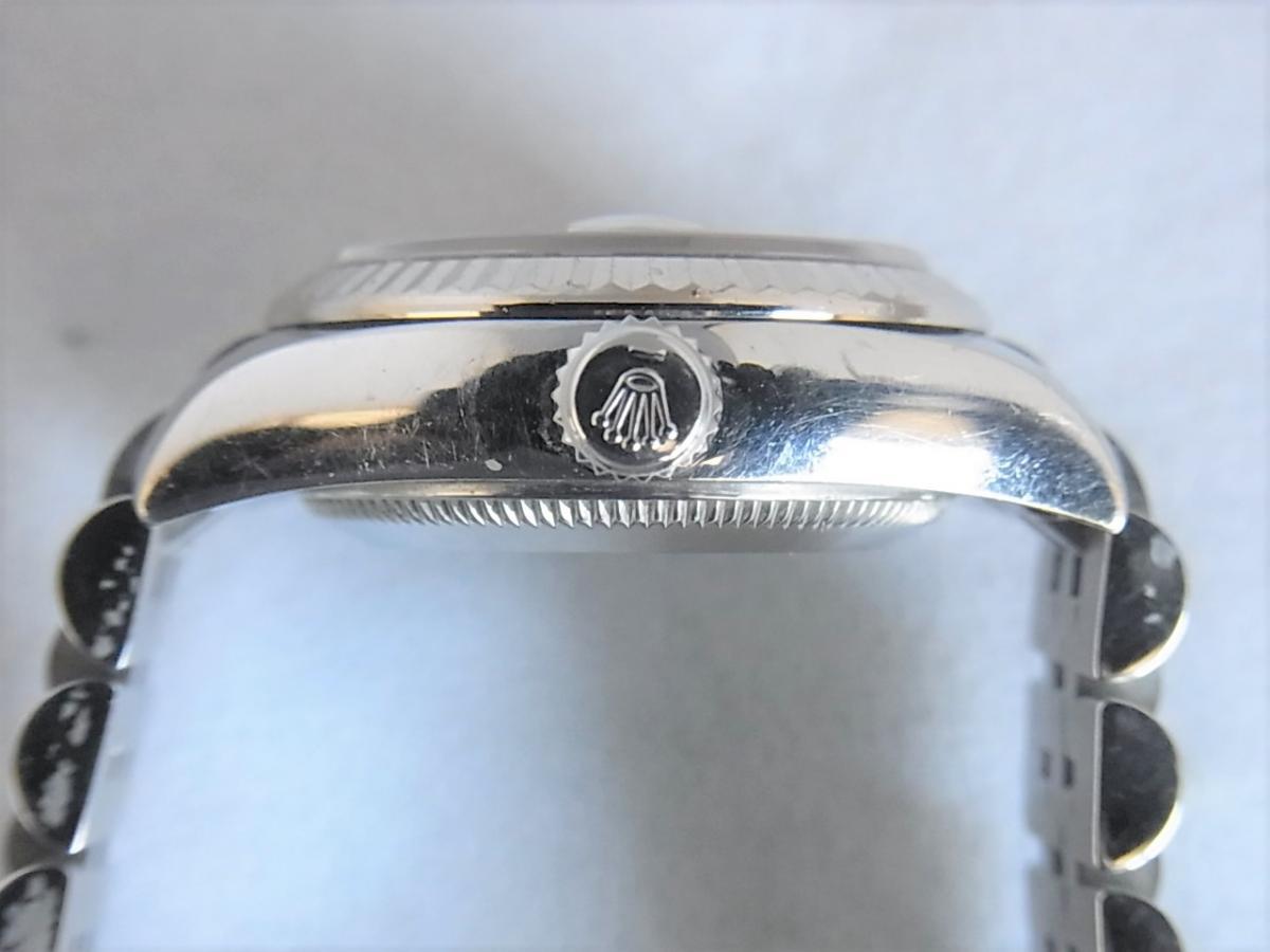 ロレックスデイトジャスト179174NG M番シリアル 買い取り実績 3時リューズサイド画像 時計を売るならピアゾ(PIAZO)