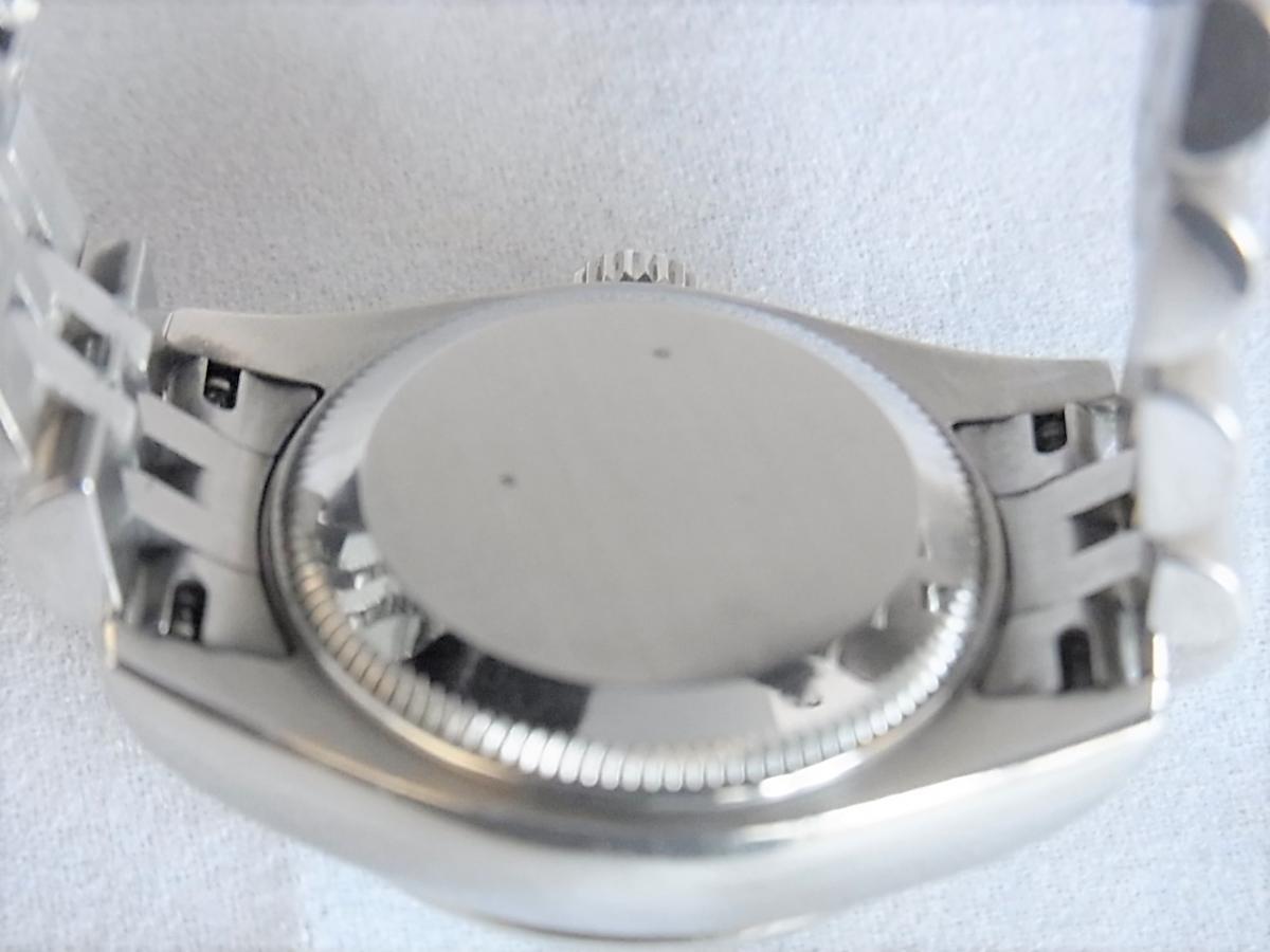 ロレックスデイトジャスト179174NG M番シリアル 売却実績 裏蓋画像 時計を売るならピアゾ(PIAZO)