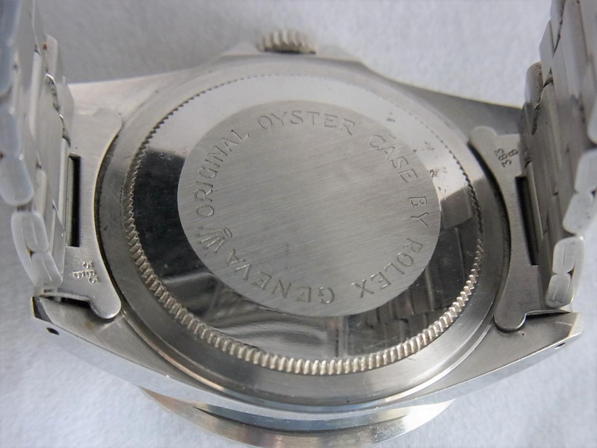 チュードルサブマリーナプリンスオイスターデイト75090 ボーイズサイズ 売却実績 裏蓋画像 時計を売るならピアゾ(PIAZO)