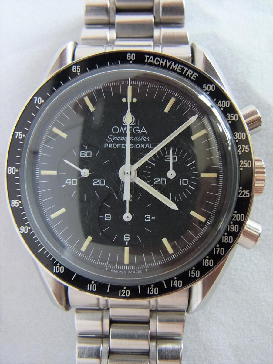 オメガスピードマスタープロフェッショナル3592.50 40mm 手巻き式腕時計、アポロ11号 10周年記念モデル 買取実績 正面全体画像 時計を売るならピアゾ(PIAZO)