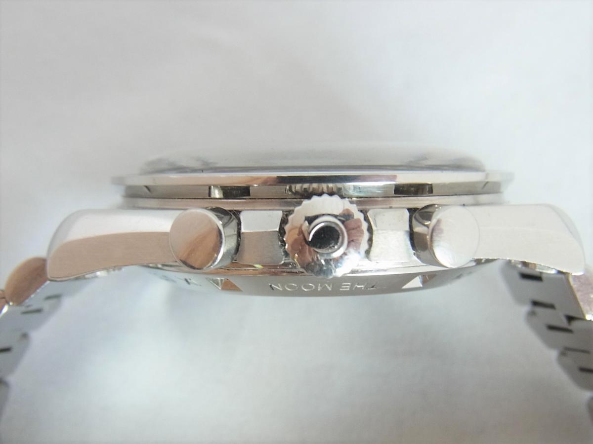 オメガスピードマスタープロフェッショナル3592.50 40mm 手巻き式腕時計、アポロ11号 10周年記念モデル 買い取り実績 3時リューズサイド画像 時計を売るならピアゾ(PIAZO)