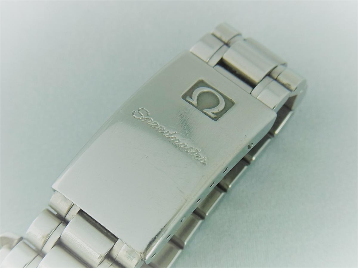 オメガスピードマスタープロフェッショナル3592.50 40mm 手巻き式腕時計、アポロ11号 10周年記念モデル 高価売却 バックル画像 時計を売るならピアゾ(PIAZO)