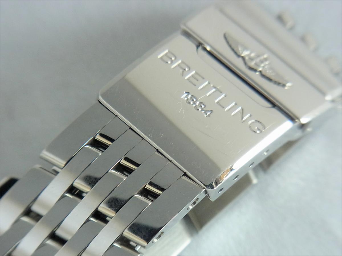 ブライトリングモンブリラン38mm A41370 、A417G34NP 高価売却 バックル画像 時計を売るならピアゾ(PIAZO)