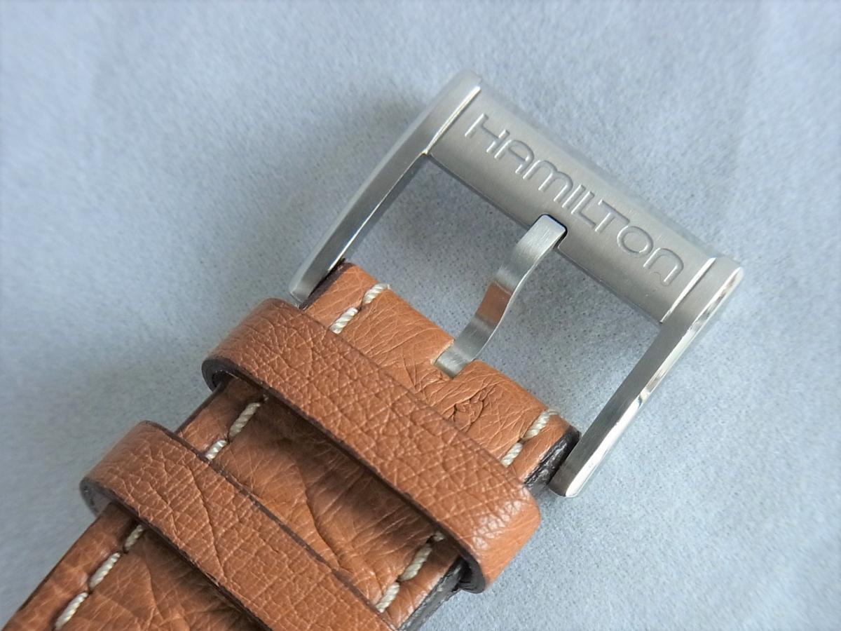 ハミルトンジャズマスタートラベラー2 H32625555 GMT/アラーム機能搭載モデル 高価売却 バックル画像 時計を売るならピアゾ(PIAZO)