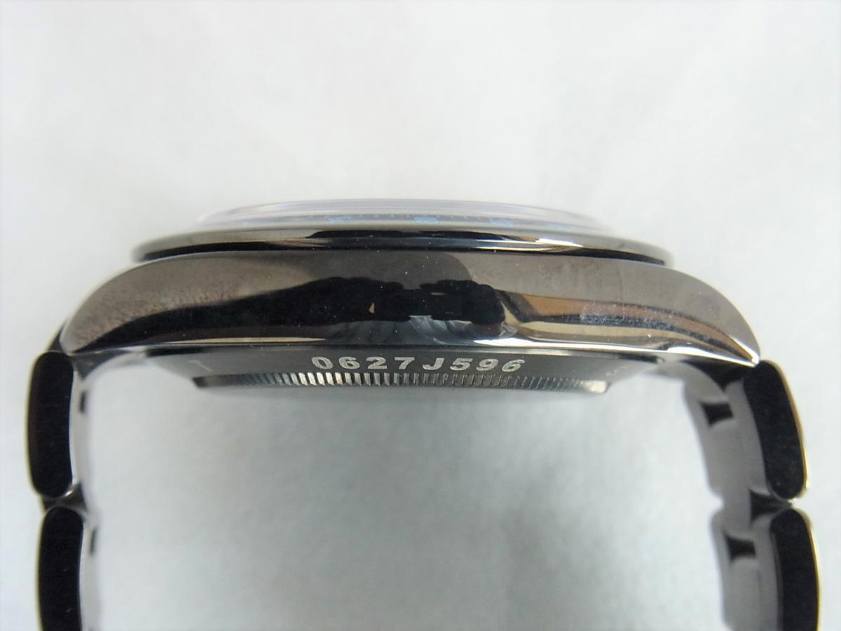 ロレックスデイトナカスタムブルーPVD加工 プロジェクトX 116520ランダムシリアル 高額売却実績 9時ケースサイド画像 時計を売るならピアゾ(PIAZO)