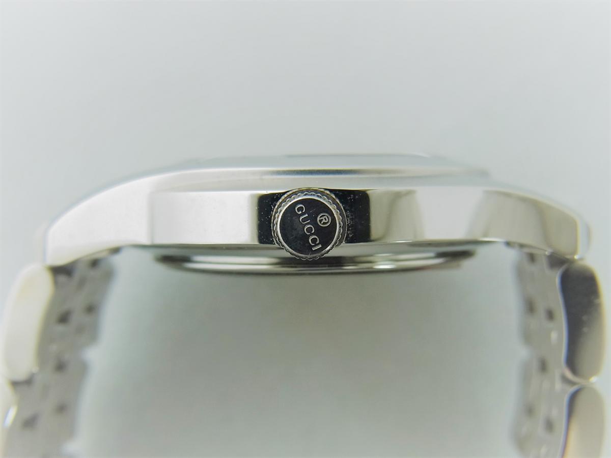 グッチGクラスYA055518 買い取り実績 3時リューズサイド画像 時計を売るならピアゾ(PIAZO)