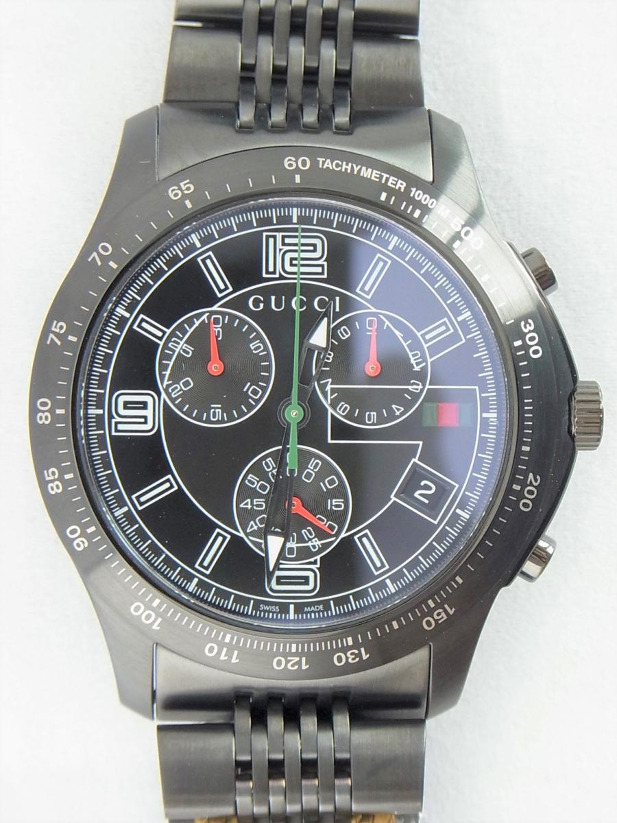 グッチGタイムレスYA126217 買取実績 正面全体画像 時計を売るならピアゾ(PIAZO)
