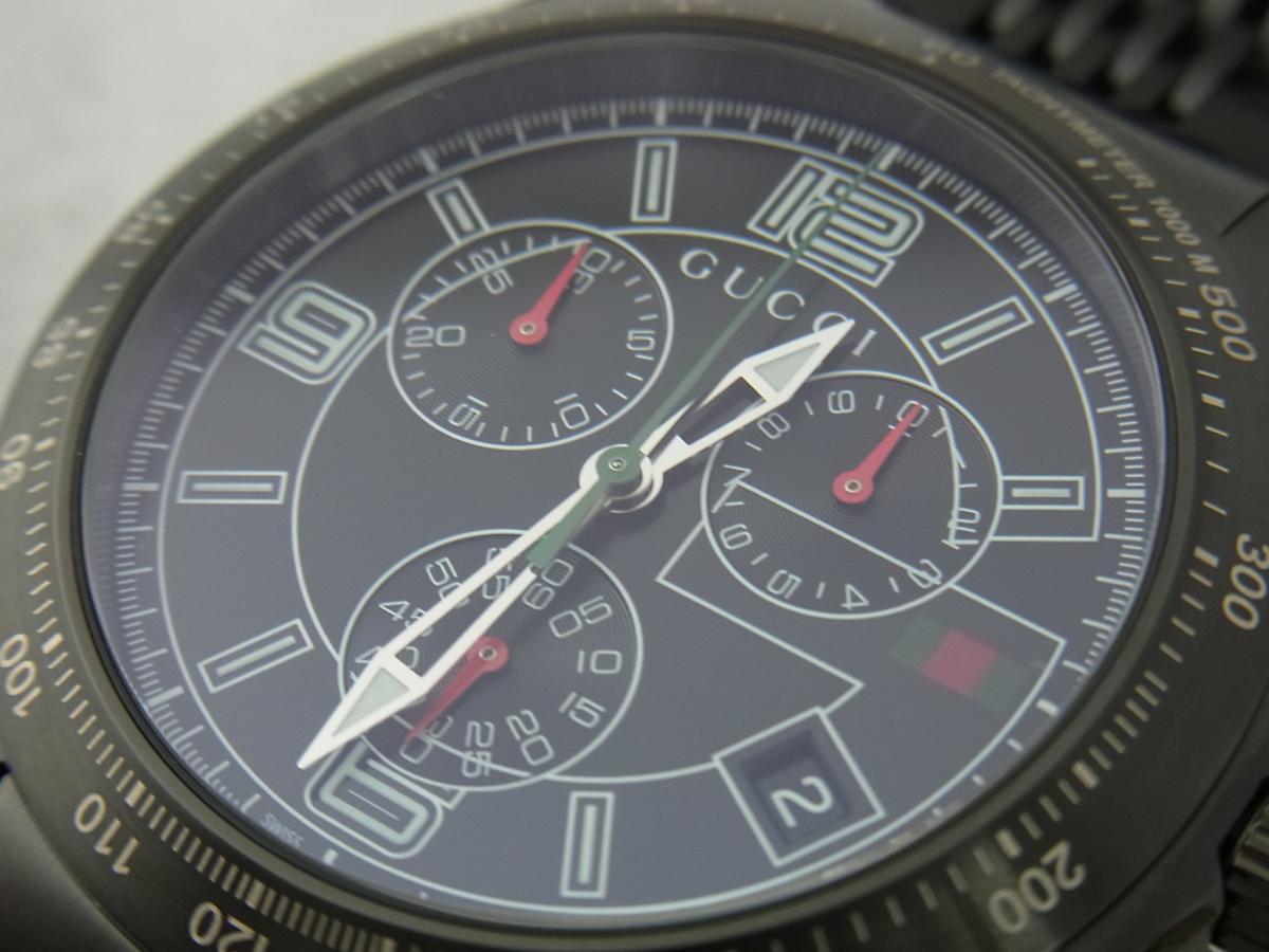 グッチGタイムレスYA126217 買取り実績 フェイス斜め画像 時計を売るならピアゾ(PIAZO)