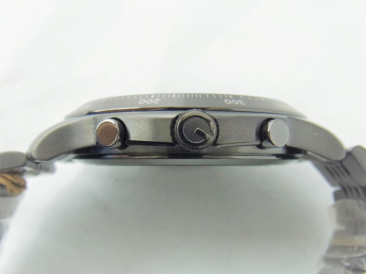 グッチGタイムレスYA126217 買い取り実績 3時リューズサイド画像 時計を売るならピアゾ(PIAZO)