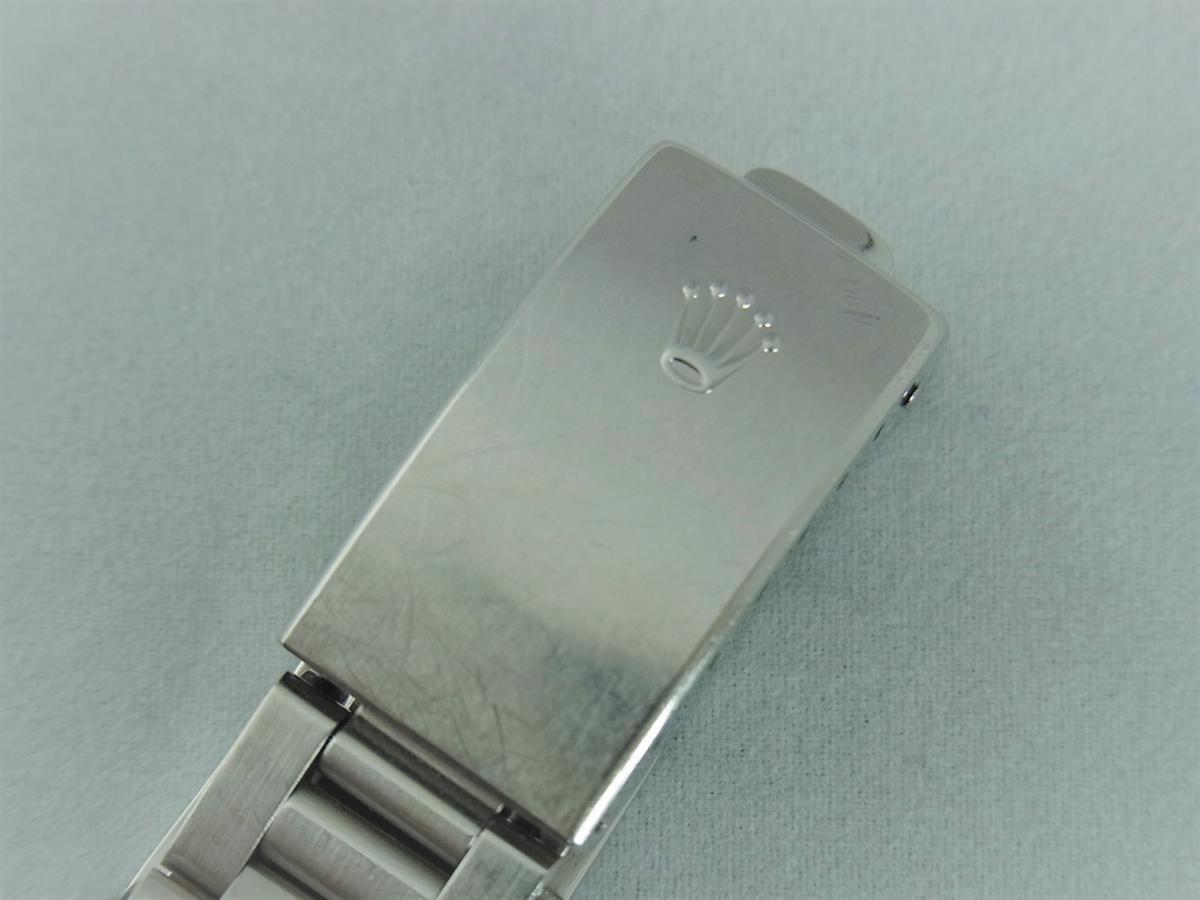 ロレックスエアキング14010M黒文字盤バーインデックス F番シリアル 高価売却 バックル画像 時計を売るならピアゾ(PIAZO)