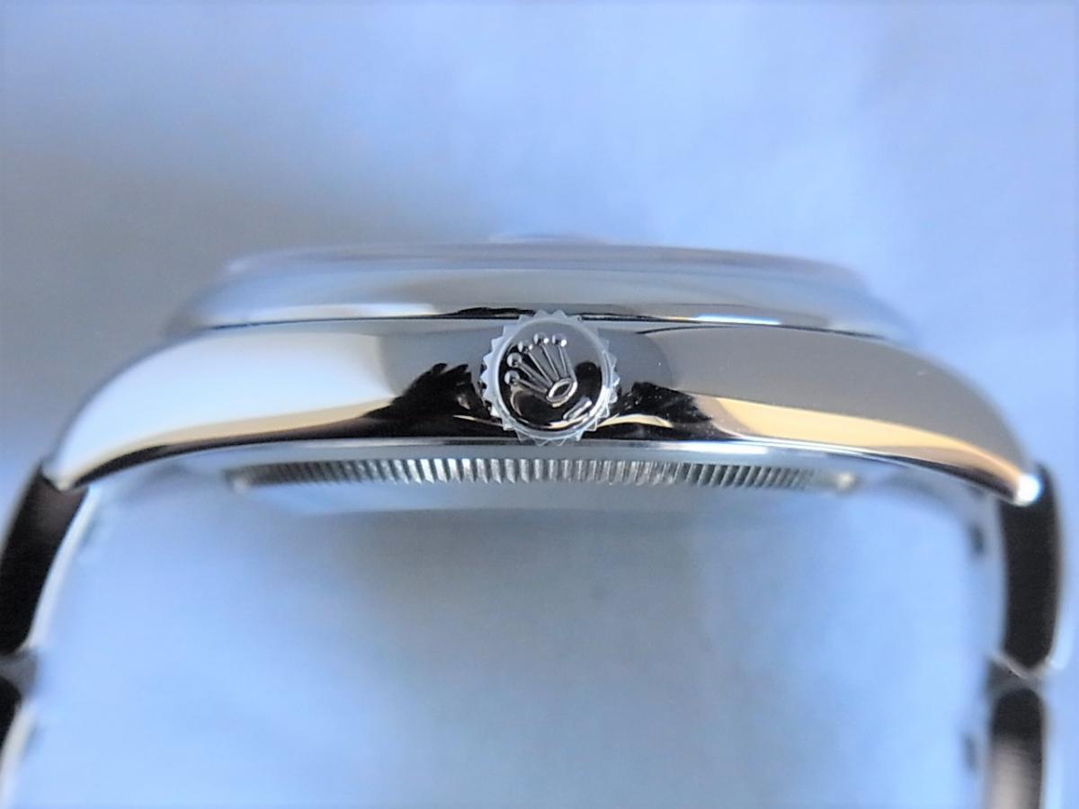 ロレックスデイトジャスト116200 シリアルナンバーM品番 買い取り実績 3時リューズサイド画像 時計を売るならピアゾ(PIAZO)