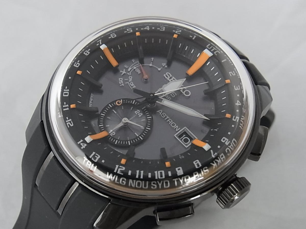 セイコーアストロンソーラーGPS搭載ウォッチSBXA035 買取り実績 フェイス斜め画像 時計を売るならピアゾ(PIAZO)