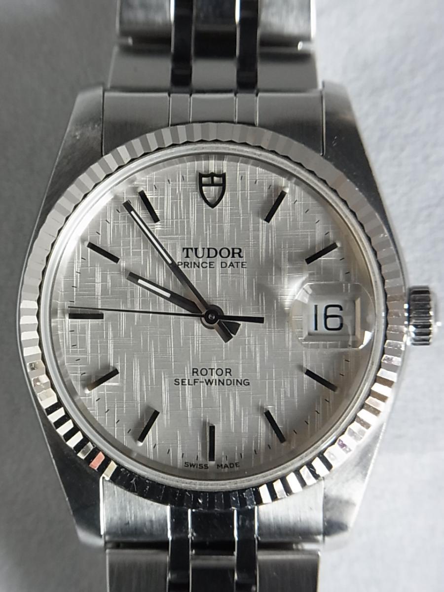 チュードルプリンセスデイト74034 シルバータぺストリー34㎜ H番シリアル 買取実績 正面全体画像 時計を売るならピアゾ(PIAZO)
