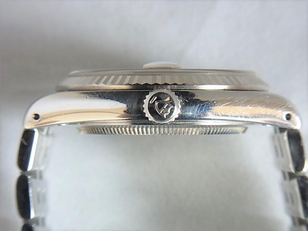 チュードルプリンセスデイト74034 シルバータぺストリー34㎜ H番シリアル 買い取り実績 3時リューズサイド画像 時計を売るならピアゾ(PIAZO)