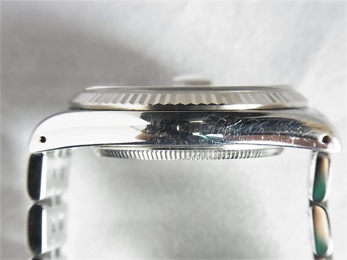 チュードルプリンセスデイト74034 シルバータぺストリー34㎜ H番シリアル 高額売却実績 9時ケースサイド画像 時計を売るならピアゾ(PIAZO)