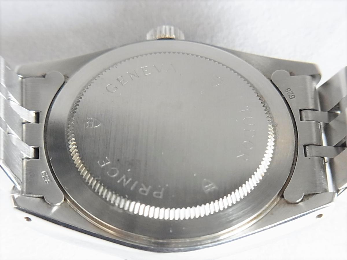 チュードルプリンセスデイト74034 シルバータぺストリー34㎜ H番シリアル 売却実績 裏蓋画像 時計を売るならピアゾ(PIAZO)