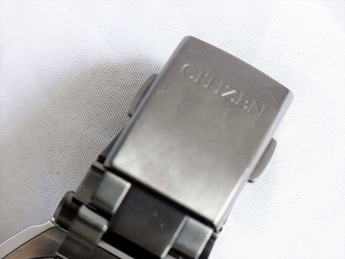 シチズンアテッサBY0045-66F(1500本限定)高価売却 バックル画像 時計を売るならピアゾ(PIAZO)